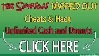 the simpsons tapped out hack free donuts and cash cheats android ios