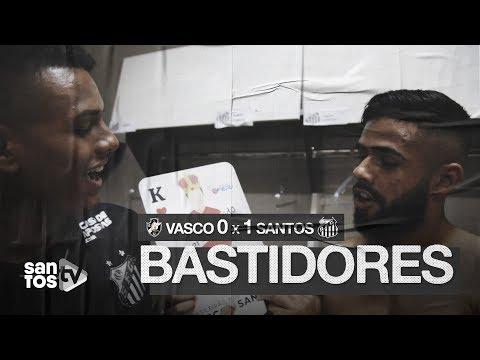 VASCO 0 X 1 SANTOS | BASTIDORES | BRASILEIRÃO (05/10/19)