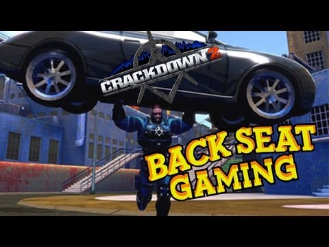 BREAKING DA LAW IN CRACKDOWN 2 (Backseat Gaming)
