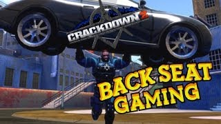 BREAKING DA LAW IN CRACKDOWN 2 (Backseat Gaming)
