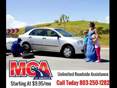 MCA Motor Club Of America Unlimited Roadside Assistance And Benefits