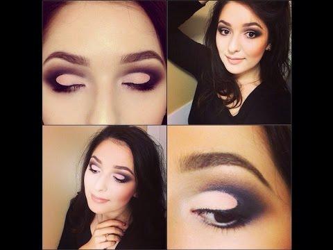 Урок вечернего макияжа: ПЕТЛЯ. Night makeup tutorial.