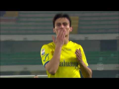 Il gol di Inglese - Chievo - Cagliari 2-1 - Giornata 25 - Serie A TIM 2017/18