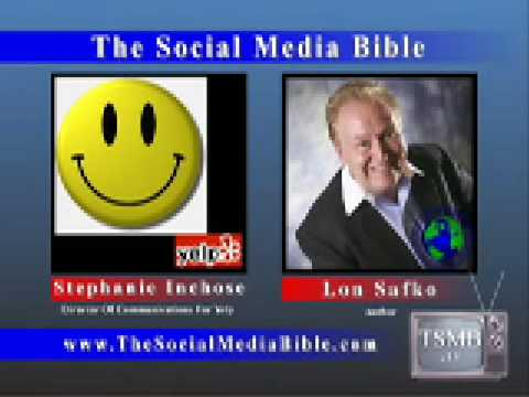 Stephanie Ichinose, Director Of Communications For Yelp & Lon Safko The Social Media Bible Interview