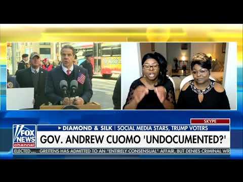 Diamond & Silk: ICE should deport New York Governor Andrew Cuomo if he's undocumented