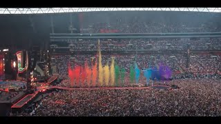 Coldplay Intro + A Head Full of Dreams Live Wembley 2016