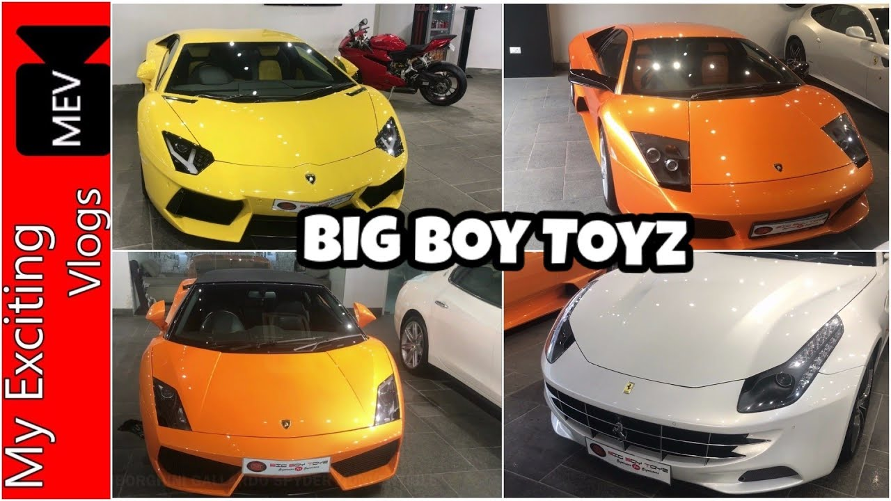 BIG BOY TOYZ SUPERCARS FOR SUPERSTARSPREOWNED EXOTIC SPORTS - Big sports cars
