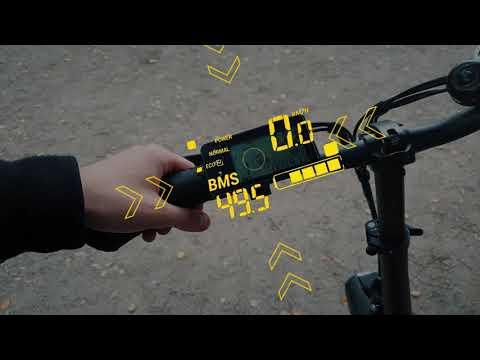 Обзор складного электро фэтбайка - Black RHINO 850