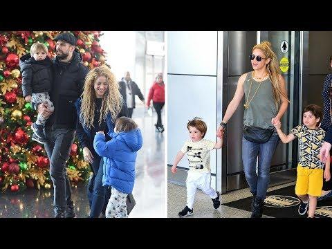 Shakira & Gerard Pique's Kids - 2017 | Sons {Milan Pique & Sasha Pique}