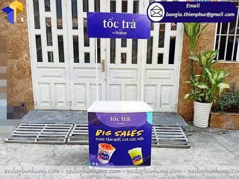 Nơi bán quầy nhựa quảng cáo bán hàng siêu thị giá rẻ quận 5