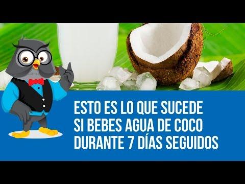 Esto Es Lo Que Sucede Si Bebes Agua De Coco Durante 7 Días Seguidos