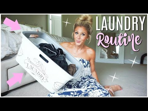 LAUNDRY ROUTINE | HOW TO MAKE YOUR LAUNDRY SMELL GREAT😍