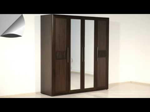 ВидеоОбзор EuroMebel: Шкаф для одежды, коллекции Токио,   (Украина)