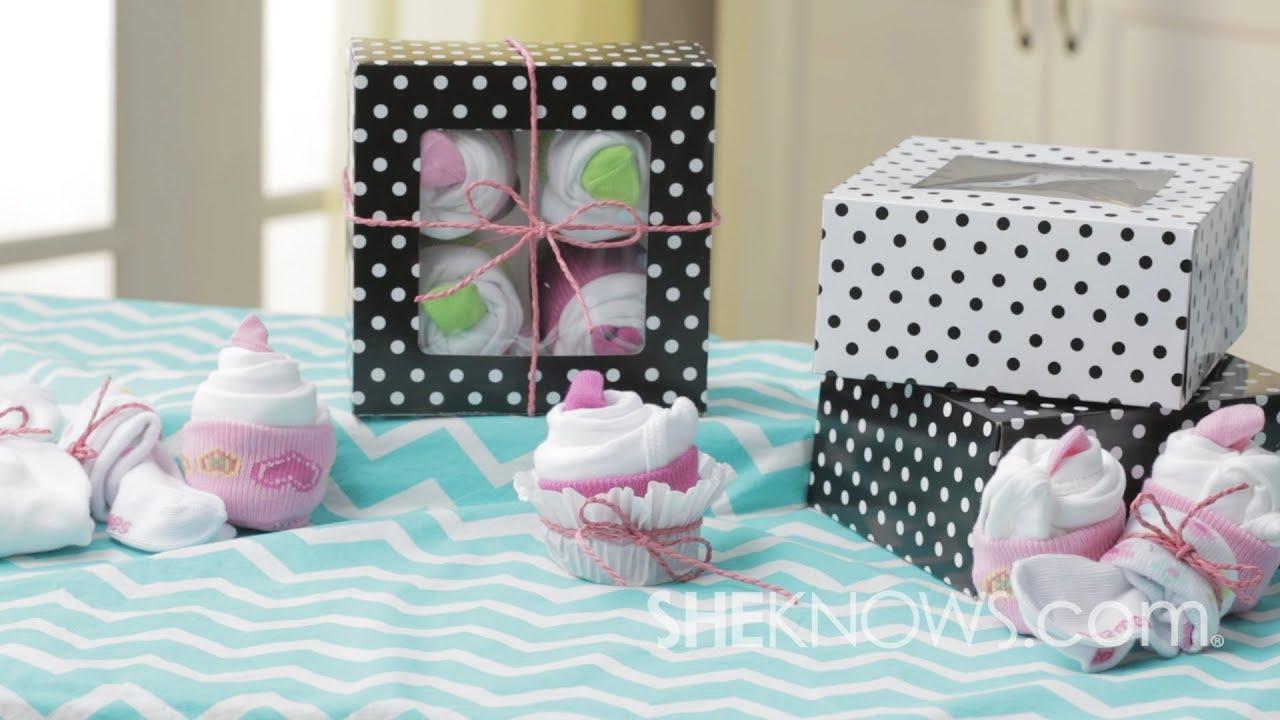 Onesie And Sock Cupcakes Youtube