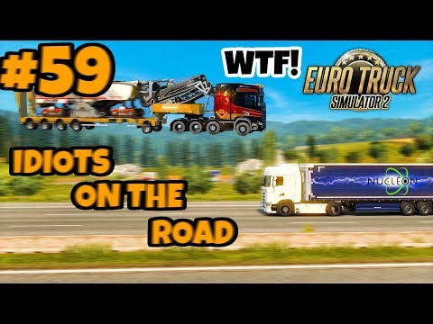 Euro Truck Simulator 2 Multiplayer: IDIOTS on the Road | Random & Funny Moments | #59
