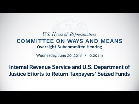 Internal Revenue Service and U.S. Department of Justice Efforts to Return Taxpayers' Seized Funds