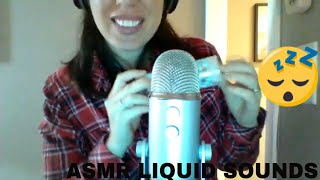 ASMR Liquid Sounds, Tapping And Whispering