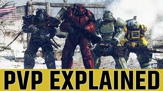 How PVP works in FALLOUT 76 // PVP Explained ☢