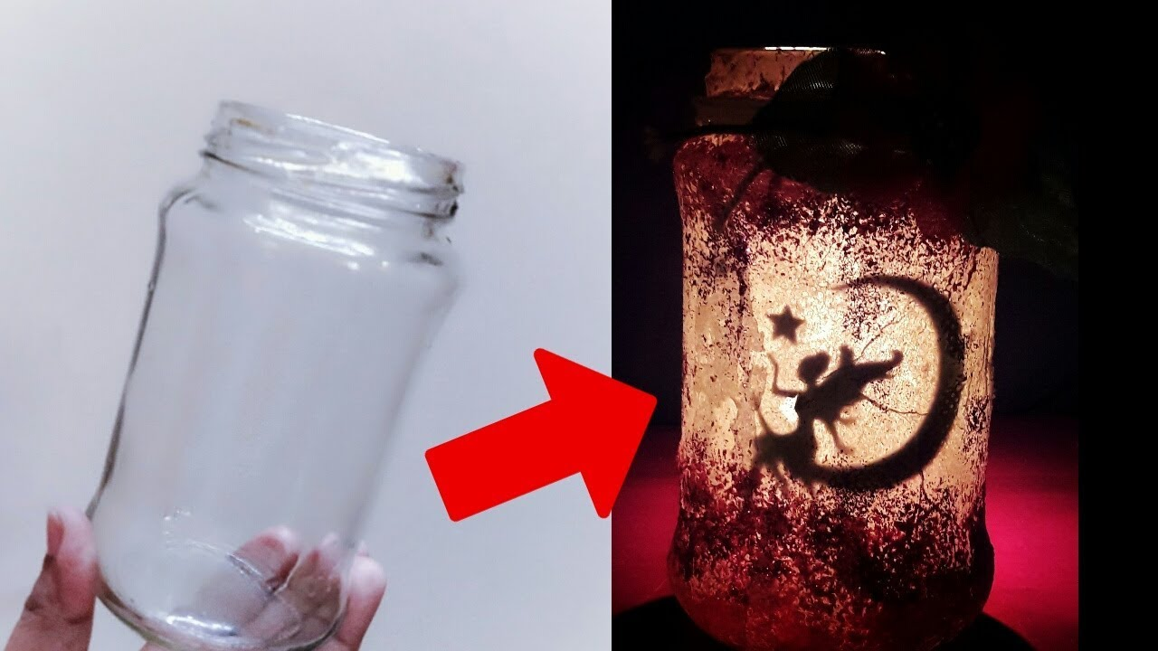 Creative ideas for glass jar Glass
