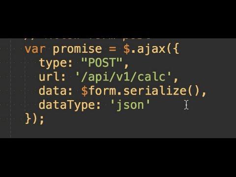 Programming JavaScript jQuery How To Ajax Beginners Tutorial