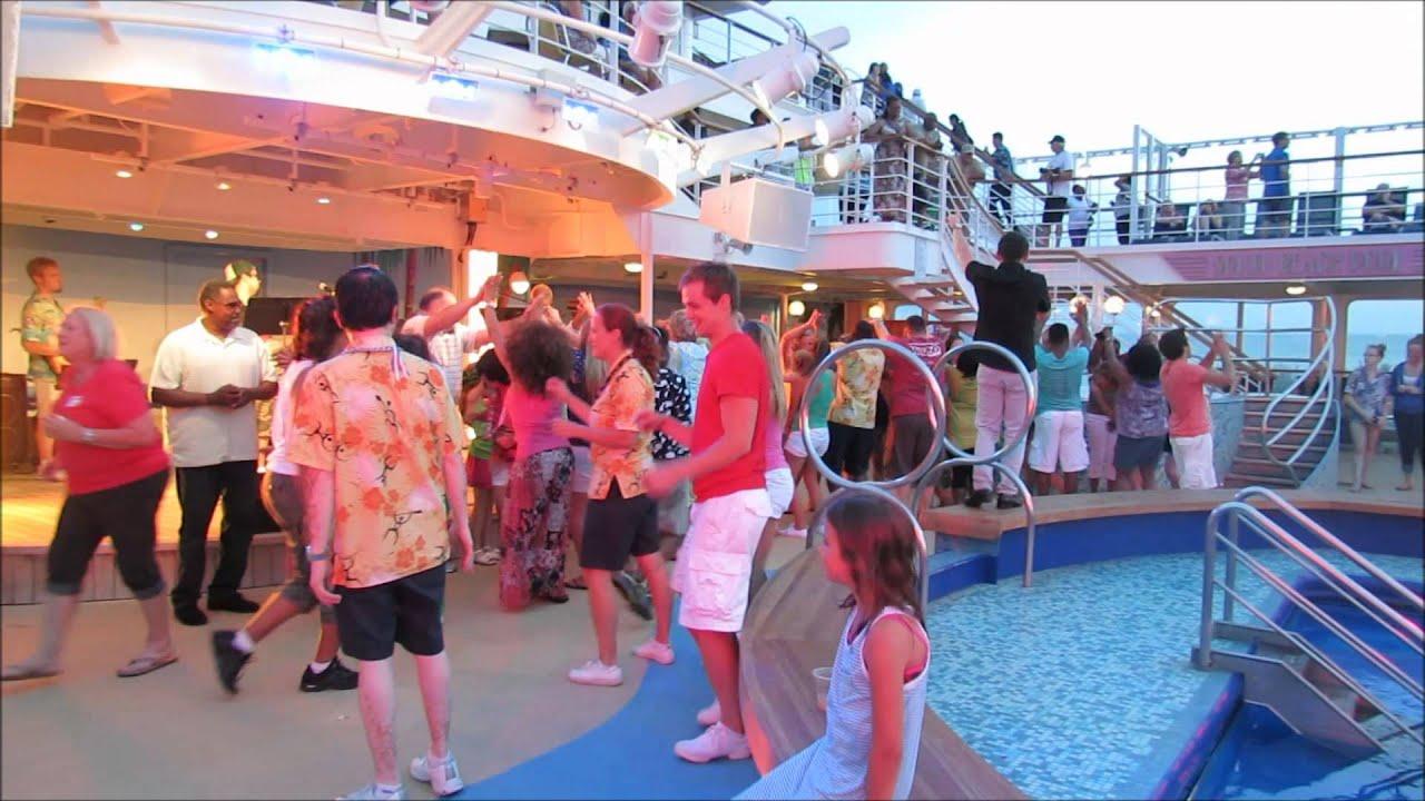 NCL Pride Of America Sail Away Party Honolulu Hawaii YouTube - Pride of america cruise ship hawaii