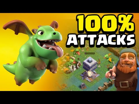 clash of clan BH7 3stars strategy mix attacks