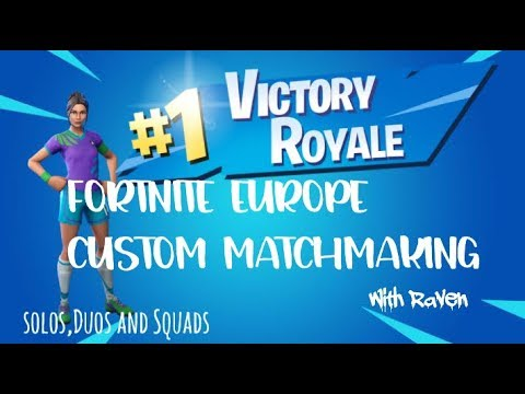 HOSTING EUROPE FORTNITE CUSTOMS/GIRL GAMER/ALL PLATFORMS WELCOME//COMEFORFUN