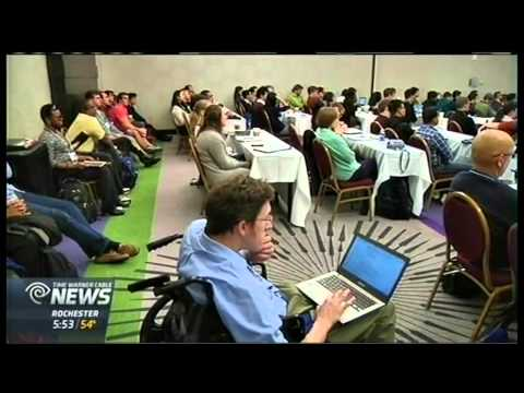RIT on TV: ACM Access Technology Conference in Rochester