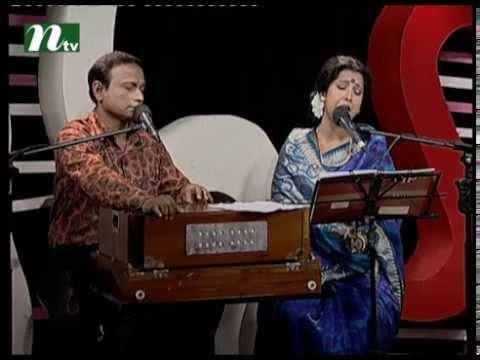Bangla Musical Show - Je Gaan Gourobe Bohoman l Ajgar Aleem, Anima Mukti