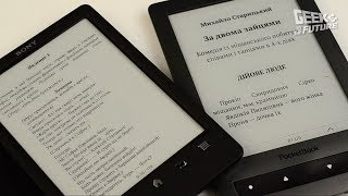 PocketBook 626 против Sony PRS-T3: когда же умрут ридеры?