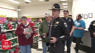"""AMMON — """"Attention Kmart shoppers. This is the Bonneville County Sh..."""