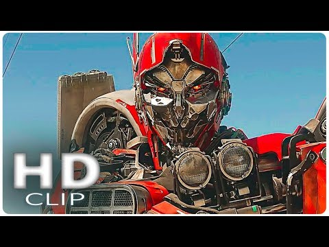 TRANSFORMERS 6 _ Triple Changer Decepticon Scene (2018) Bumblebee, Blockbuster Action Movie HD