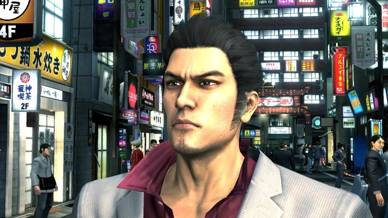 Yakuza 3 PS4 Remaster Okinawa Gameplay