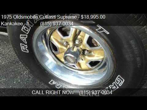 1975 Oldsmobile Cutlass Supreme Hurst Olds for sale in Kanka