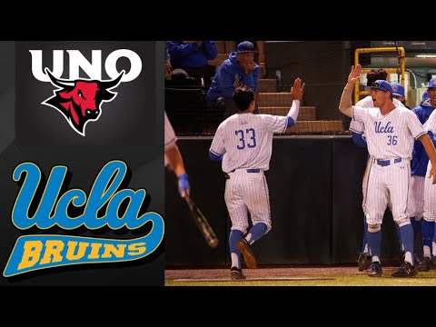 Omaha Vs #1 UCLA NCAA Baseball Regional | College Baseball Highlights