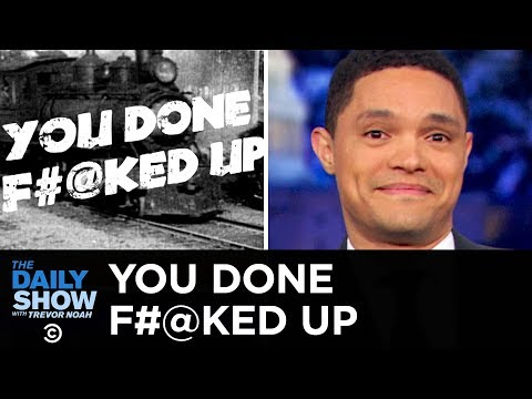 You Done F**ked Up - Cruise Ship Nightmare & NASA's Space Suit Screwup | The Daily Show