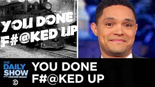 Download You Done F**ked Up - Cruise Ship Nightmare & NASA's Space Suit Screwup | The Daily Show Mp3 and Videos