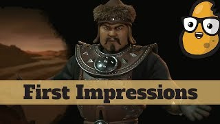 Video First Impression - Mongolia - New Rise and Fall Civilization Mongols - Civ 6 Expansion download MP3, 3GP, MP4, WEBM, AVI, FLV Januari 2018