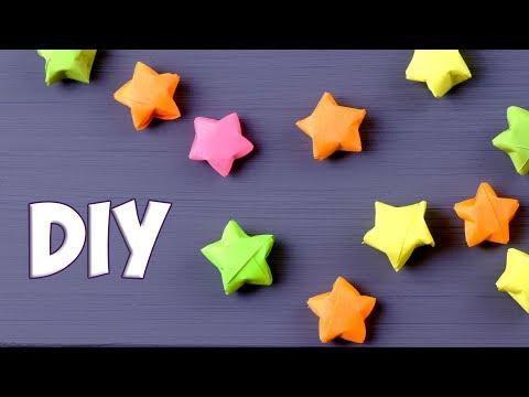 Как сделать звездочку из бумаги своими руками
