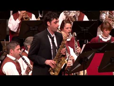 Fantasia for Alto Saxophone and Band - Claude T. Smith - Bürgerkapelle Brixen