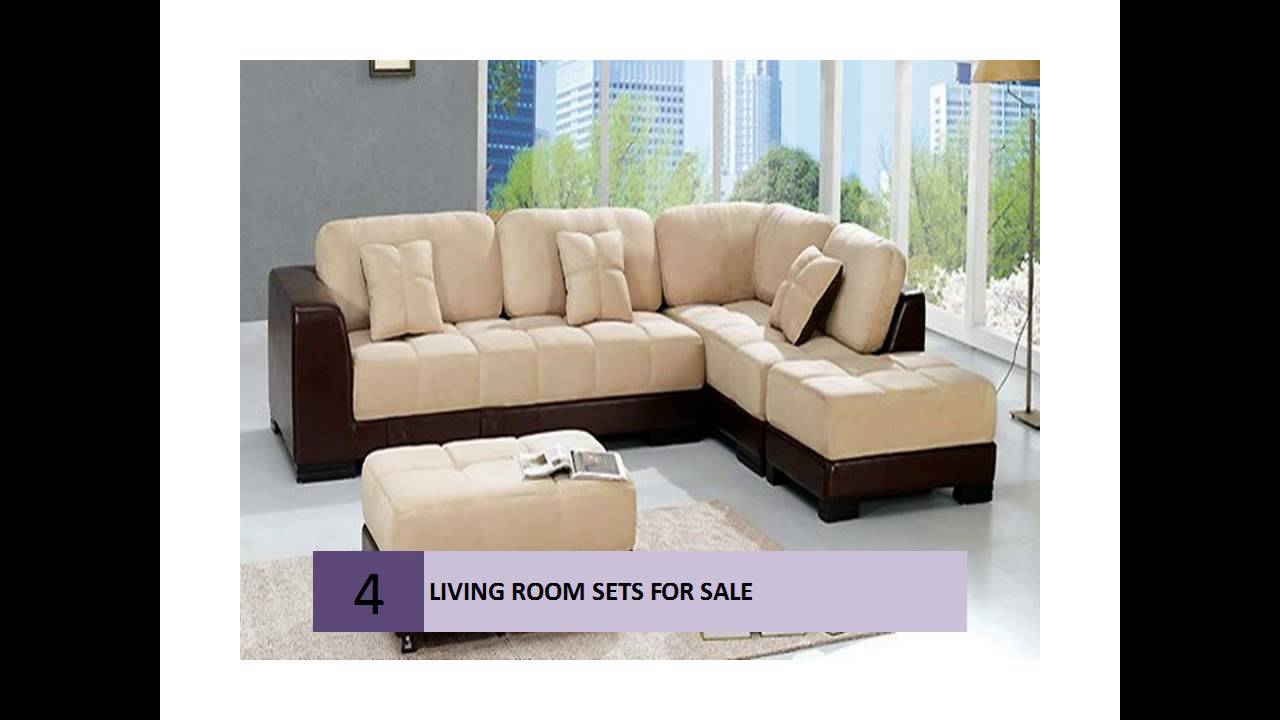 living room furniture sets for sale - youtube