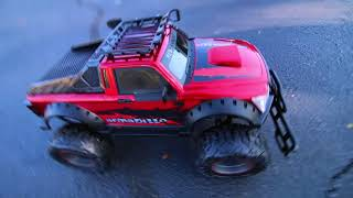 Review and Unboxing of New Bright RC Truck Armadillo