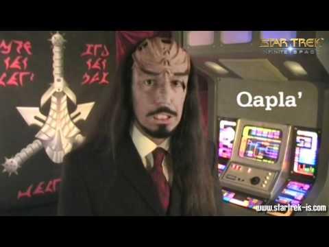 Klingon Course 1: nuqneH & Qapla'