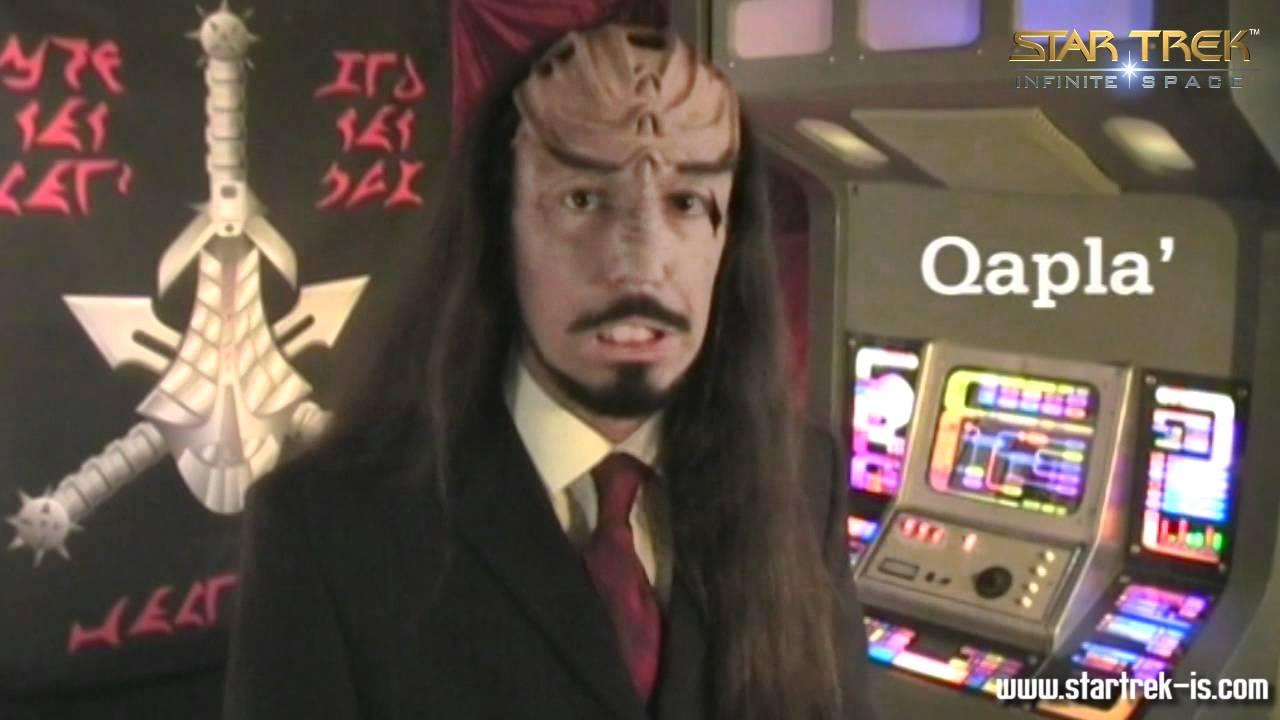 Klingon Course 1 Nuqneh Qapla