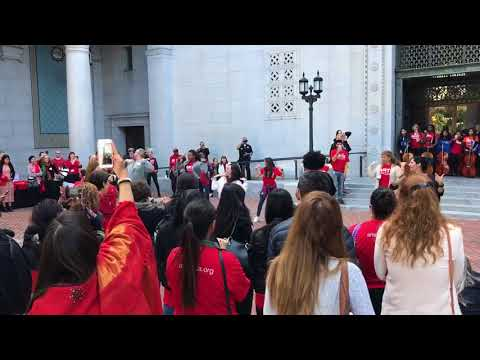 Flash Mob LA City Hall - ArtsDay LA 2018