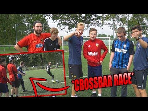 Crossbar Race & In de Goal Challenge!   Voetbal Cup #2