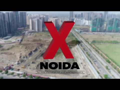 Noida's mega construction sites drone view (Oh My God Noida project video)