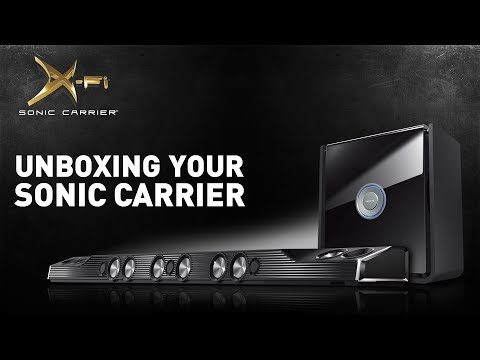 Creative X-Fi Sonic Carrier: Unboxing your Sonic Carrier