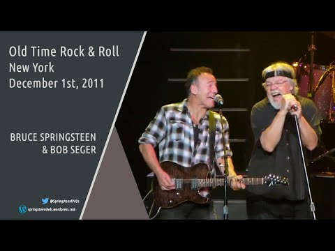 Bob Seger & Bruce Springsteen | Old Time Rock & Roll - NY - 01/12/2011 (Multicam mix/Dubbed audio)