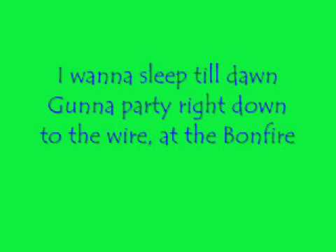 Lyrics bonfires songs about bonfires lyrics | Lyrics Land